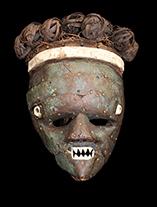 Sala Mpasu Mask from D.R. Congo
