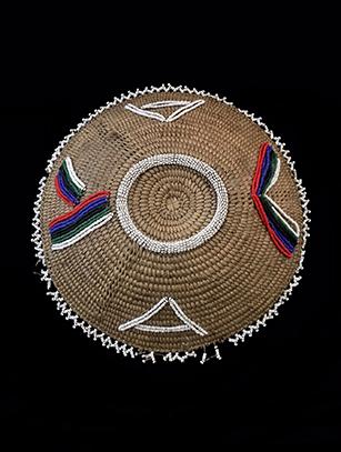 Zulu Beer Pot lid 'Imbenge' (#2) - Zulu People, South Africa