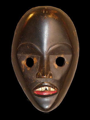 'Gunyege' Racing Mask - Dan people, Ivory Coast