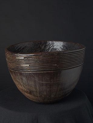 Dark Wood Bowl - Ethiopia
