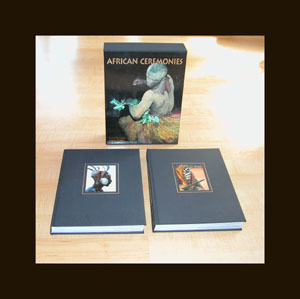 2 volume African Ceremonies - SIGNED By Carol and Angela - Sold