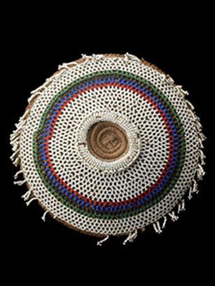 Zulu Beer Pot lid 'Imbenge' (B) - Zulu People, South Africa